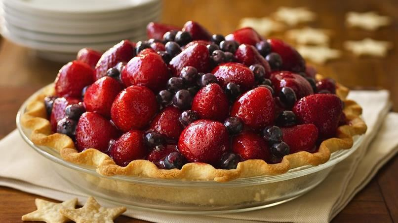 Here's to the Red, White & Blue Pie