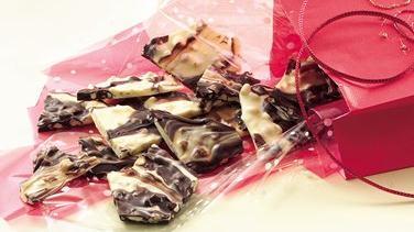 Chocolate Marble Candy Bark