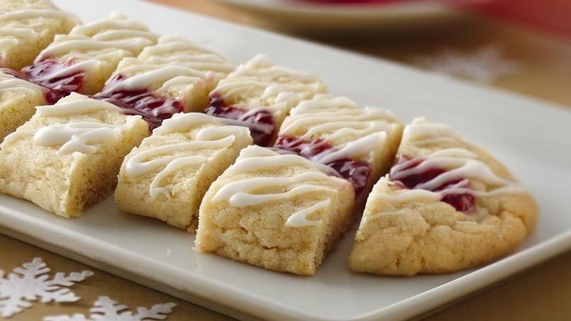 Raspberry Ribbon Slices