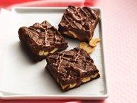Chocolate Caramel-Cashew Bars
