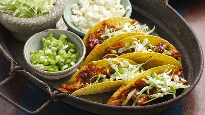 Chipotle Cranberry Crunchy Tacos