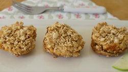 Pastelitos de Manzana y Granola