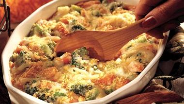 Swiss Vegetable Casserole