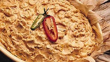 Corn and Walnut Dip