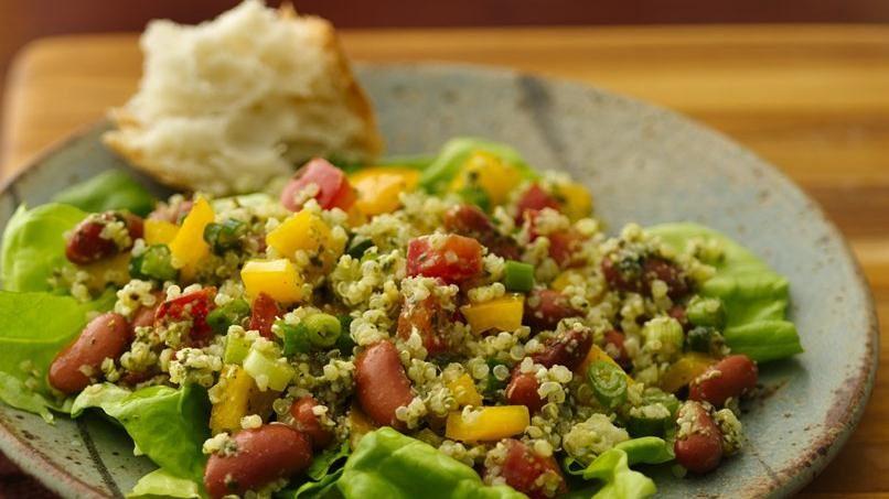 Ensalada de Granos Mixtos y Verduras