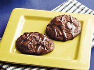 Black Magic Brownie Cookies