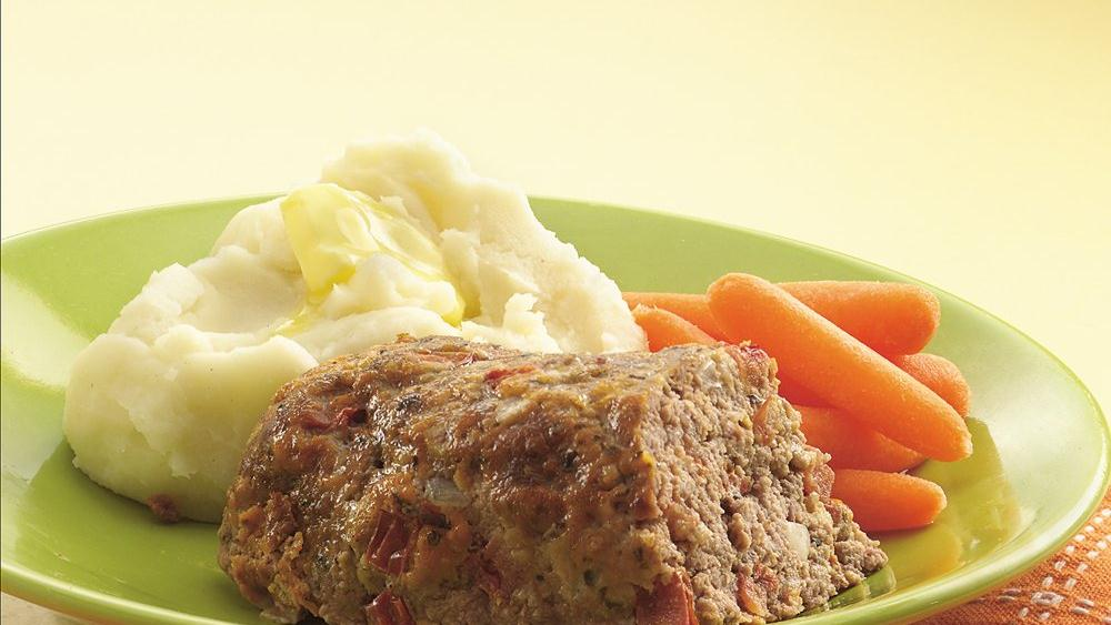 Tomato-Basil Meatloaves