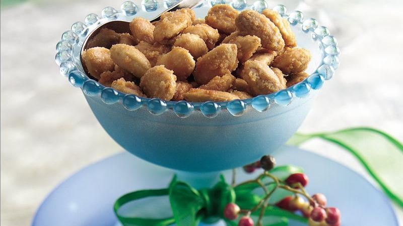 Ginger-Spiced Almonds