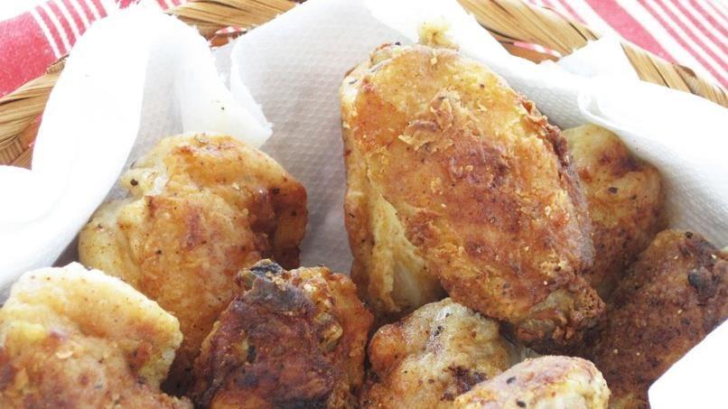 Cajun Fried Wings