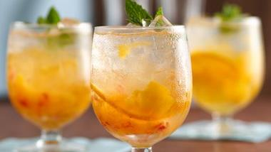 Peachy Orange Cream Cocktail