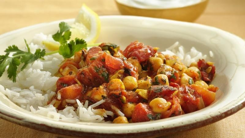 Chickpea and Tomato Curry
