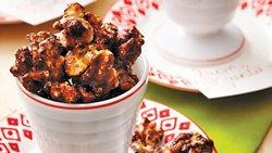 Spiced Glazed Walnuts