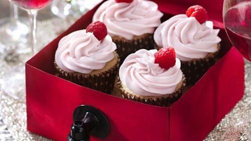 Zinfandel Wine Cupcakes recipe from Betty Crocker