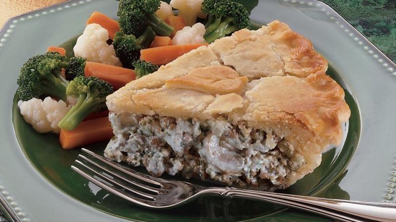 Beef Stroganoff Pot Pie