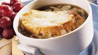 Quick Onion Soup Gratinée