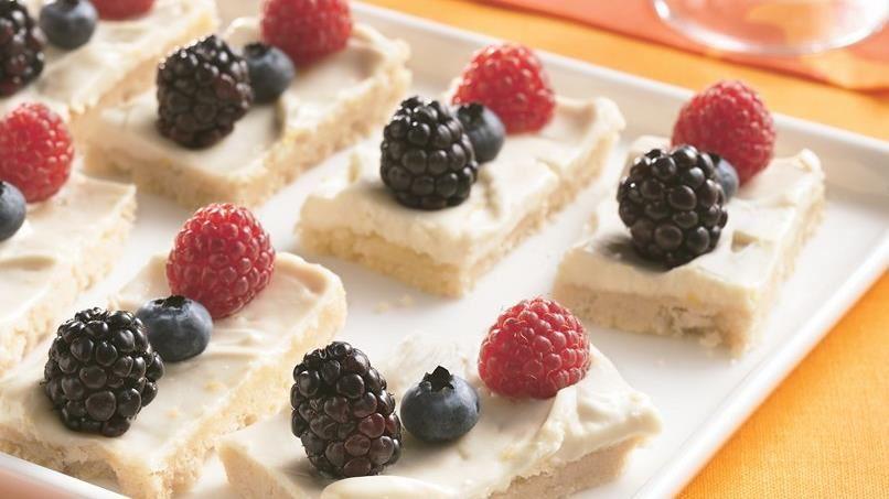 Fresh Berry Dessert Bites