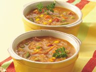 Curried Pumpkin-Vegetable Soup