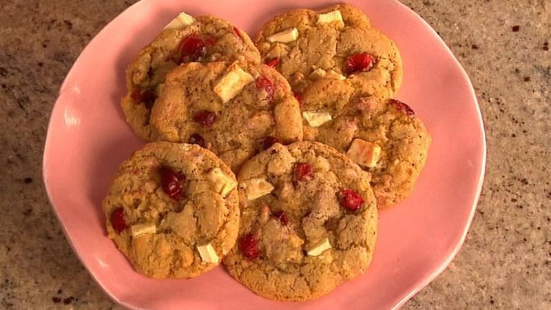 Cranberry, Orange and White Chocolate Chunk Cookies recipe ...