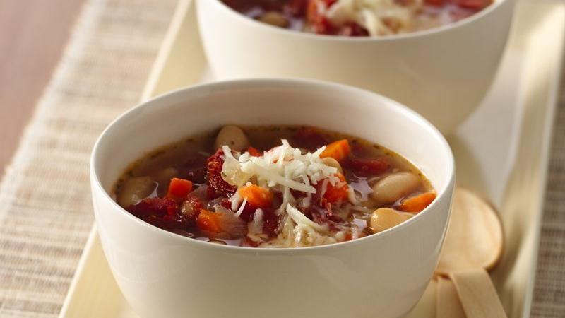 Chunky Tomato-Bean Soup