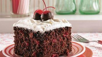 Chocolate-Cherry Cola Cake