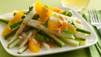 Gluten-Free Spicy Jicama and Orange Salad