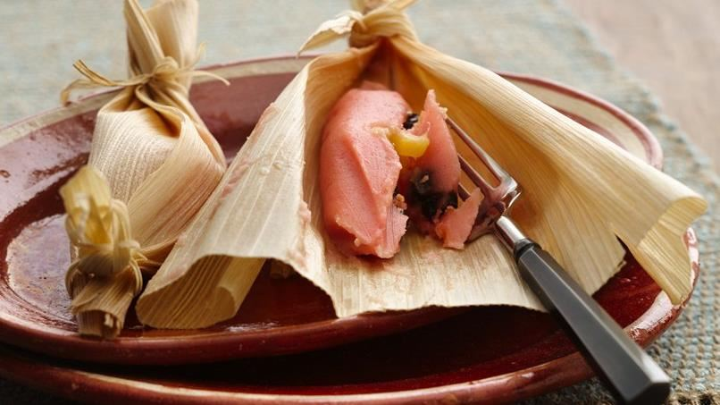 Pink Mexican Tamales