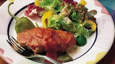 Grilled Creole Pork and Peppers