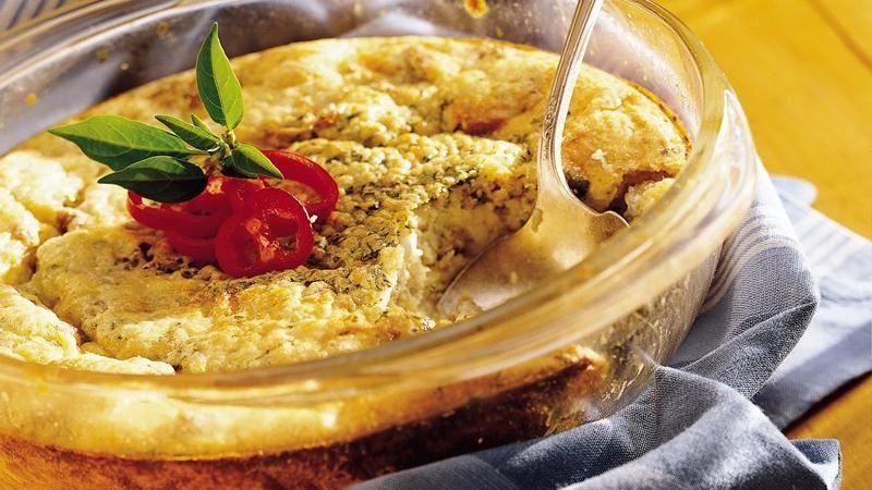 Overnight Chorizo and Egg Bake