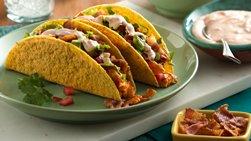 Turkey Bold Ranch Club Tacos