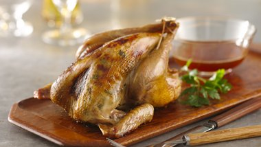Orange-Roasted Pheasants