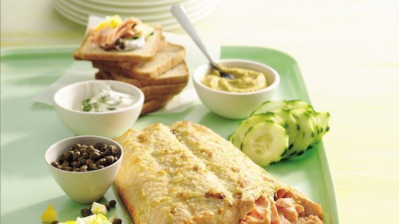 Planked Salmon Platter