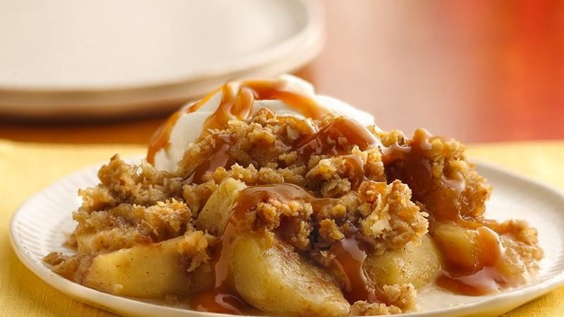 Caramel-Apple Crisp