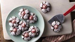 Chocolate Mint Crinkles