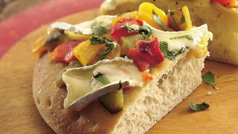 Focaccia with Brie