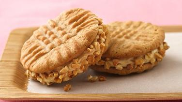 Jumbo Honey-Roasted Peanut Butter Sandwich Cookies