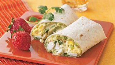 Mexican Egg Salad Wraps