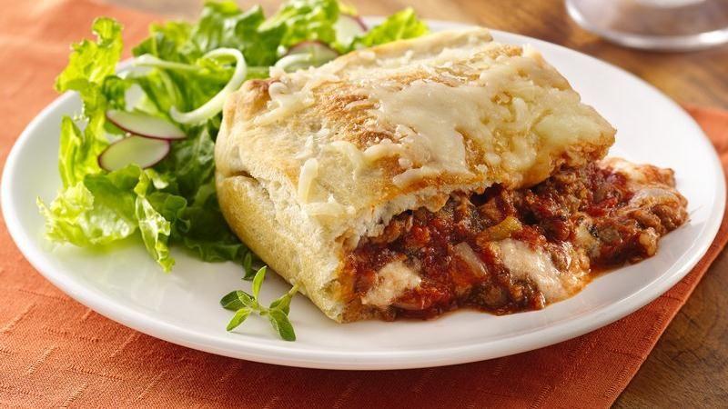 Deep-Dish Lasagna Pie