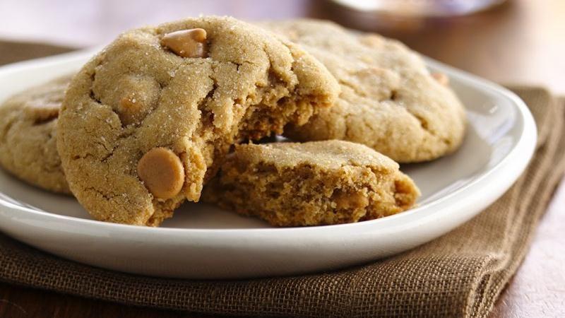 Peanut Butter Chip Cookies (White Whole Wheat Flour)