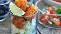 Fried Fish Poppers
