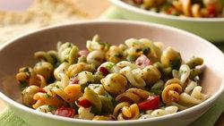 Asiago Cheese-Chickpea Pasta Salad
