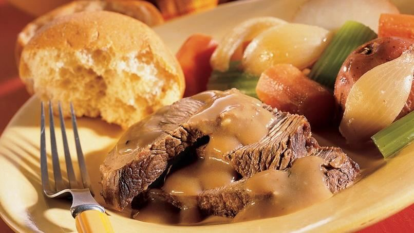 Pot Roast and Gravy