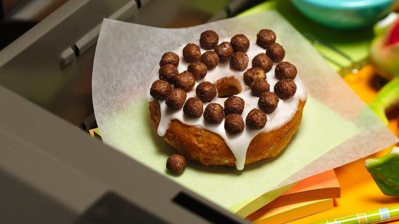 Cocoa Crunch Doughnuts