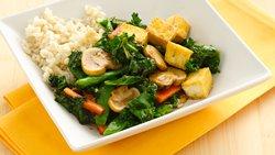 Gluten-Free Asian Kale and Tofu Stir-Fry