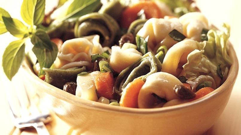 Cheese-Filled Tortellini Salad