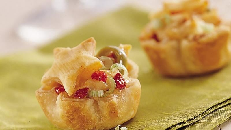 Chicken and Olive Pastries