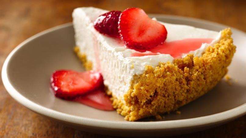Dulce de Leche No-Bake Cheesecake
