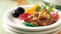 Zesty Beef and Bean Dip