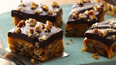 Gluten-Free Chocolate Chip Turtle Bars