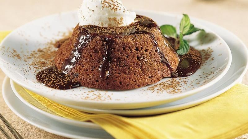 Chocolate Souffle Cakes