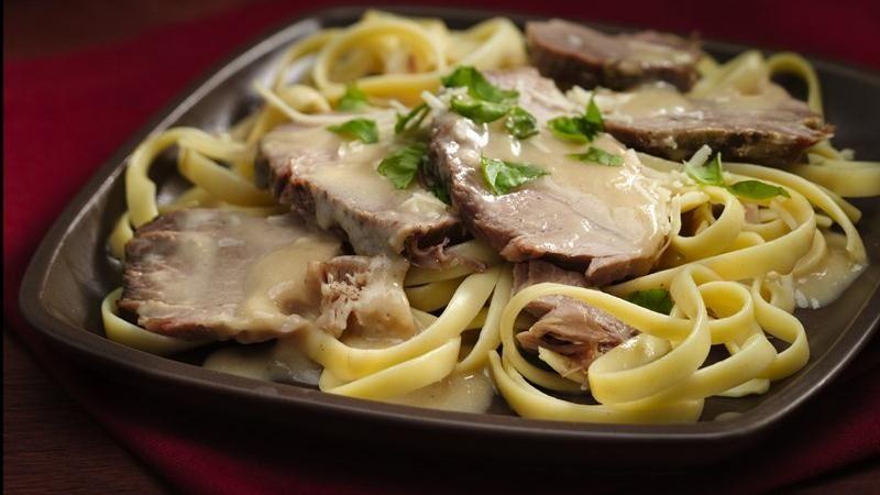 Slow-Cooker Parmesan Basil Pork Roast
